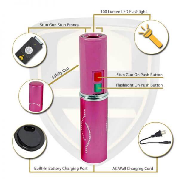 lipstick tazers pink