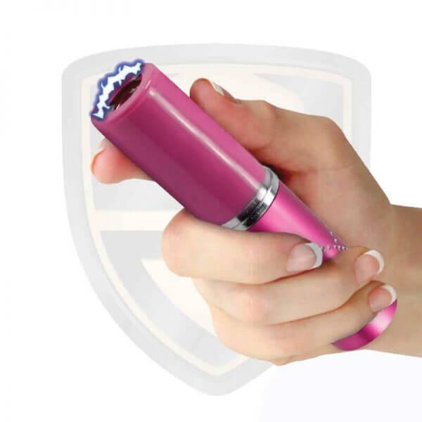 lipstick stun gun with flashlight