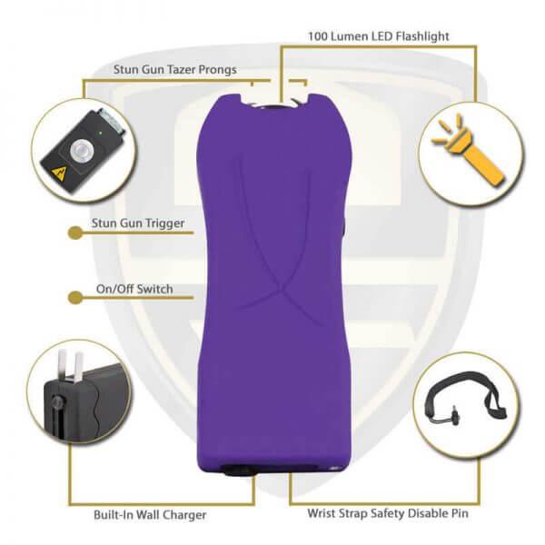 purple tasers