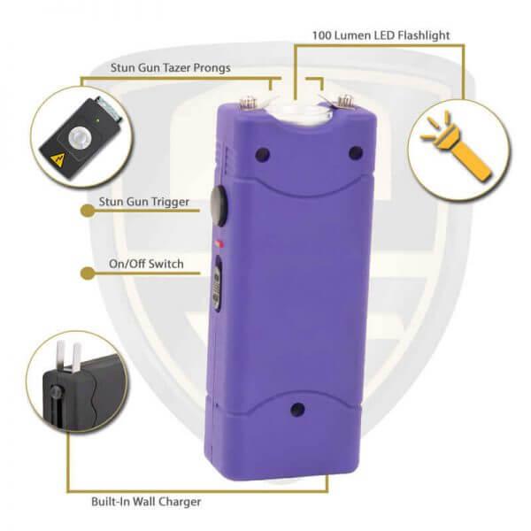Small Purple Taser