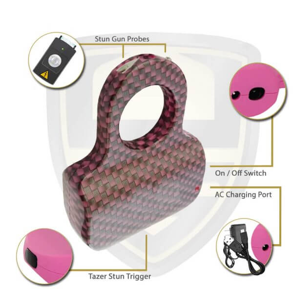 Electric Stun Gun Ring Features And Benefits