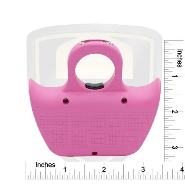 Pink Knuckle Stun Gun Size