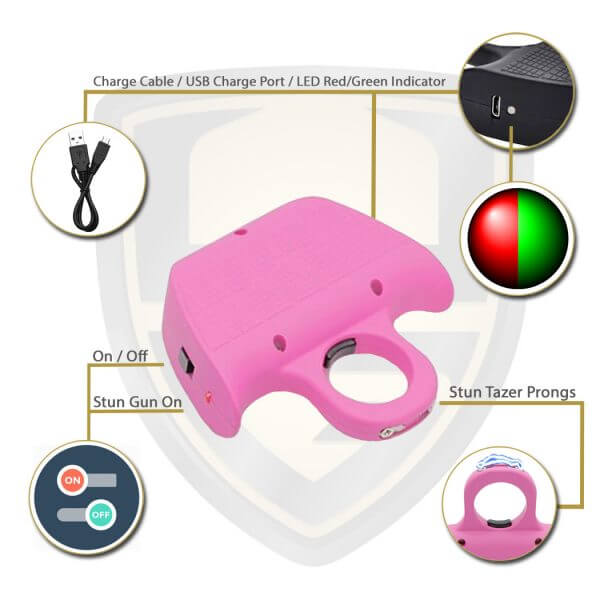 Shock Ring Taser Pink Features And Benefits