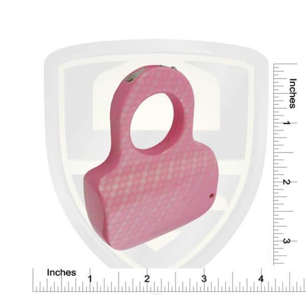 Streetwise Ring Stun Gun Pink Carbon Fiber