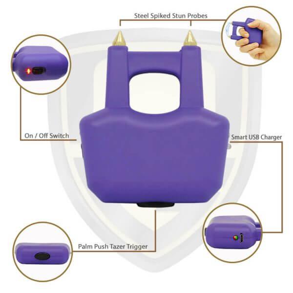knuckle tazer purple