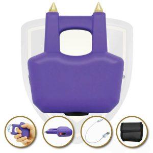 ring stun gun purple