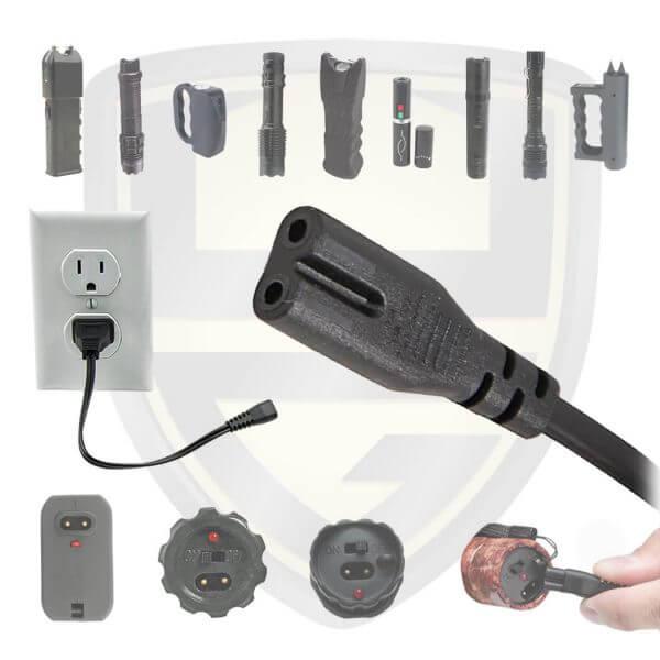 stun gun charger cord