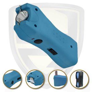 compact stun gun color blue for sale