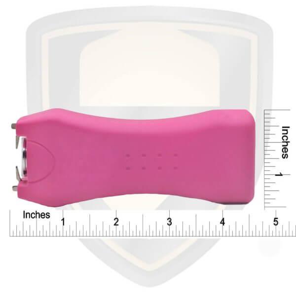 pink stun gun handheld size