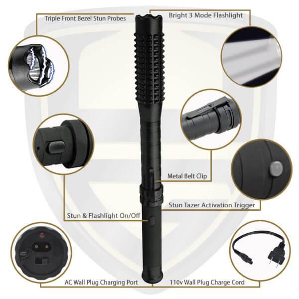 stun baton features