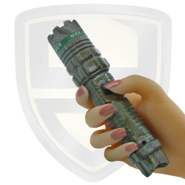 police tazer flashlight camouflage