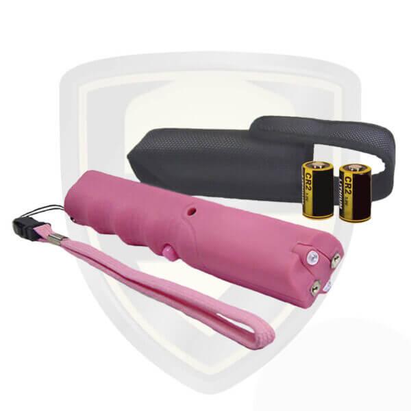 taser sticks by zap stun gun pink