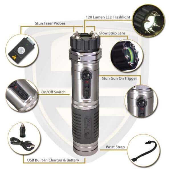 zap light stun flashlight ZAP ZAPL