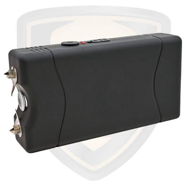 mini stun gun black rechargeable