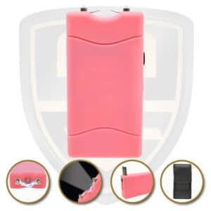 small stun gun pink rechargeable